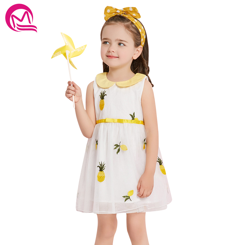 New Spring Summer Sleevless Children Girl Clothes Casual School Dress for Girls mini Tutu Dress Kids Girl Party Wear Clothing children girl tutu dress super hero girl halloween costume kids summer tutu dress party photography girl clothing