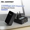 Comfast WR150N беспроводной Wi-Fi Ретранслятор 802.11 г/б/н 150 мбит Сети Маршрутизатор Диапазон Expander Усилитель Сигнала Расширить wi-fi США/ЕС plug