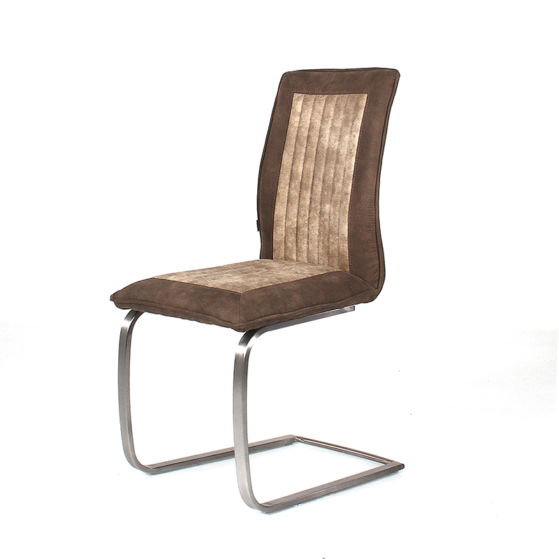 Fancy Fix Leather Dining Chair Soft Comfortable Bow Shaped