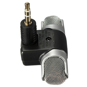 Image 2 - LEORY Mini Condenser Microphone 3.5mm Portable Stereo Karaoke Microphone Mic For Universal PC Laptop Mobile Phone Recorder