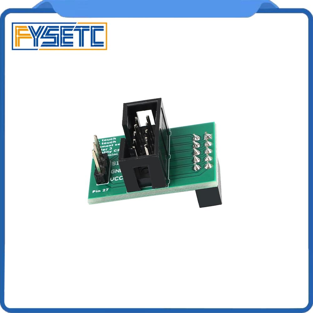 3D Printer Parts Wider Power Channel Pin 27 Board Adapter Sensor For Creality CR-10 Ender 5 Ender-3 Ender 3 Pro BL-TOUCH BLTouch3D Printer Parts Wider Power Channel Pin 27 Board Adapter Sensor For Creality CR-10 Ender 5 Ender-3 Ender 3 Pro BL-TOUCH BLTouch