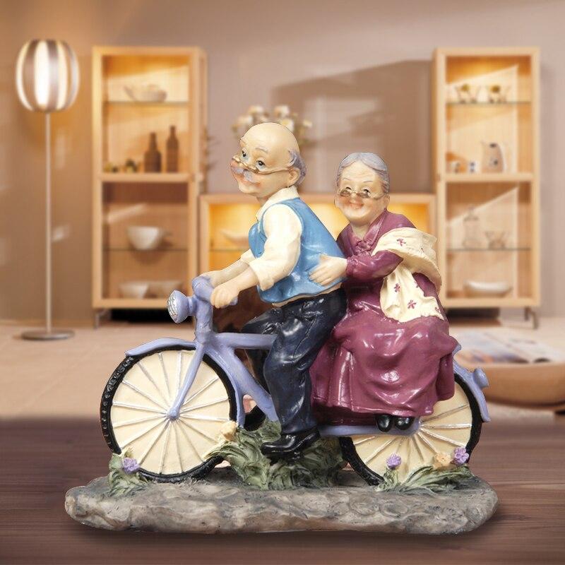 Européenne parents envoyer les parents Ameublement décoration de mariage anniversaire cadeau ornements femme