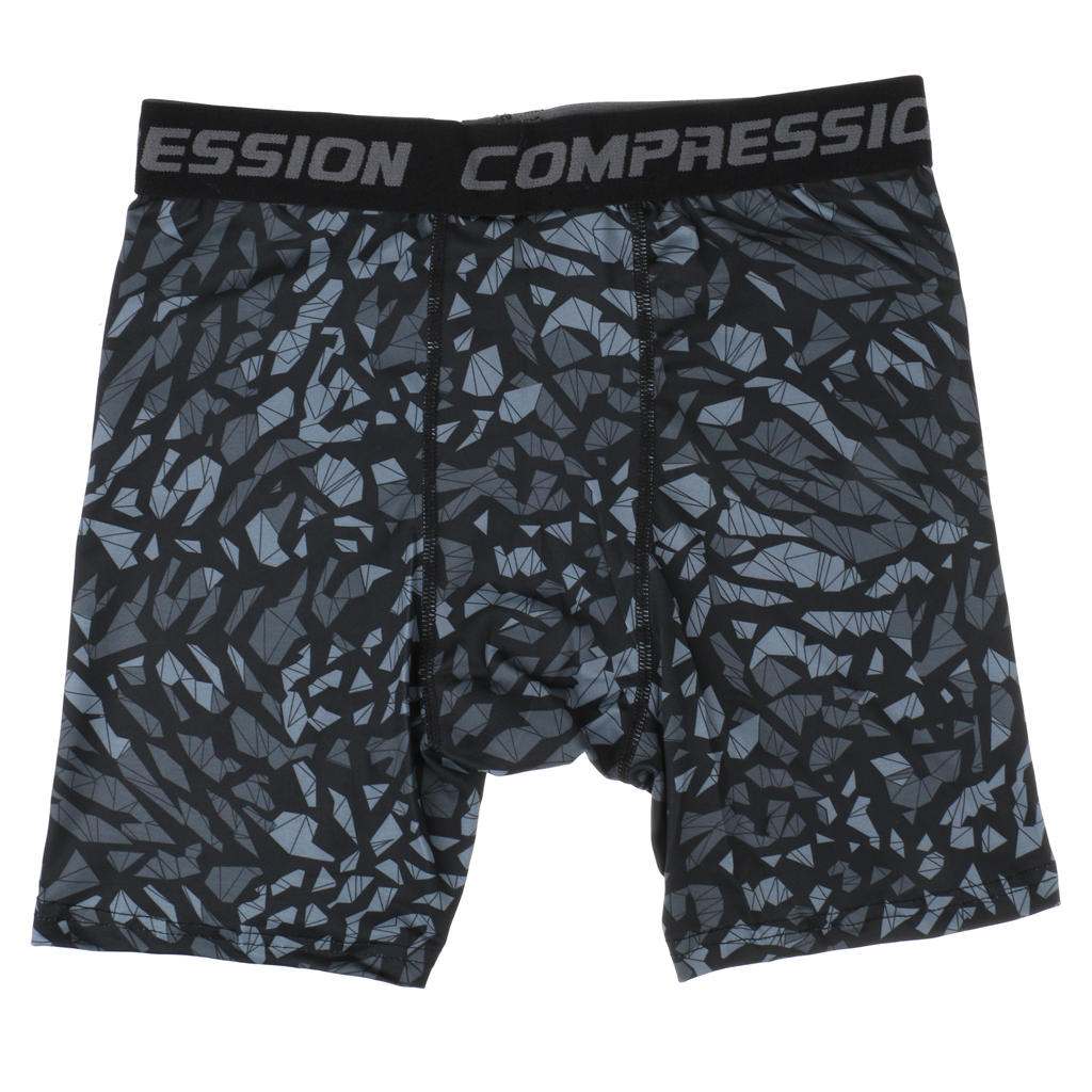 ddd97adef6b70 Fashion Breathable Mens High Elastic Printed Compression Shorts Gym Running  Fitness Sports Tights XL-in Boxers from Underwear & Sleepwears on  Aliexpress.com ...