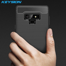 KEYSION Carbon Fiber Texture Case for Samsung Galaxy Note 9