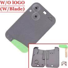 شحن مجاني (5 قطعة/الوحدة) 2 مفتاح بزر عن بعد علبة لرينو لاغونا بطاقة مع شفرة خضراء