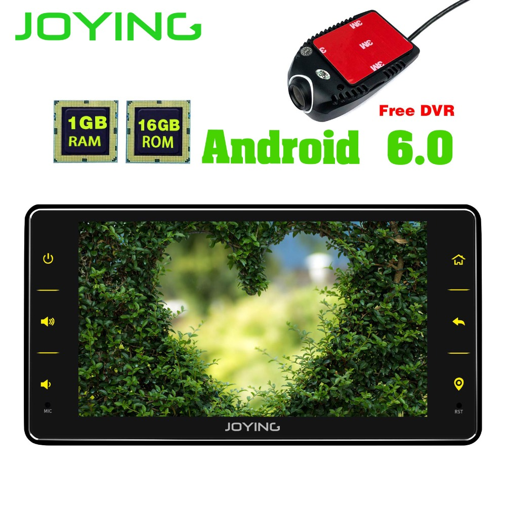 6.2TDA7851 Joying Single 1 Din 800*480 Universal Android Car Stereo Radio GPS Navigation Head Unit Support WIFI DVR Video out