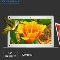 14 Laptop 8GB RAM SSD 256GB 512GB Fast CPU Intel 4 Cores Windows UItraBook Airbook Arabic Spanish Russian Keyboard