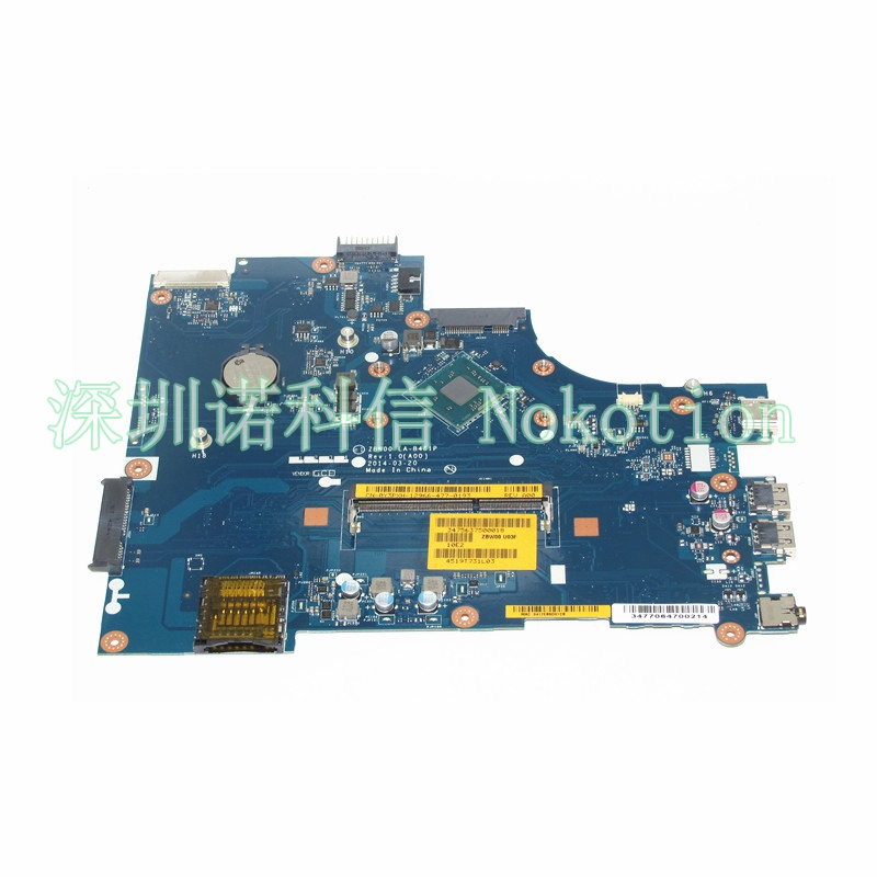 NOKOTION brand new CN-0Y3PXH 0Y3PXH For inspiron 15 3531 laptop motherboard ZBW00 LA-B481P SR1W2 N3530 CPU Onboard DDR3 815248 501 main board for hp 15 ac 15 ac505tu sr29h laptop motherboard abq52 la c811p uma celeron n3050 cpu 1 6 ghz ddr3