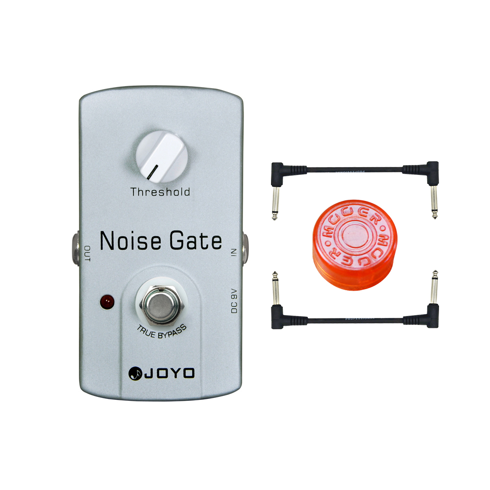 joyo jf 31 dc 9v noise gate noise suppressor pedal guitar effect pedal free power supply and. Black Bedroom Furniture Sets. Home Design Ideas