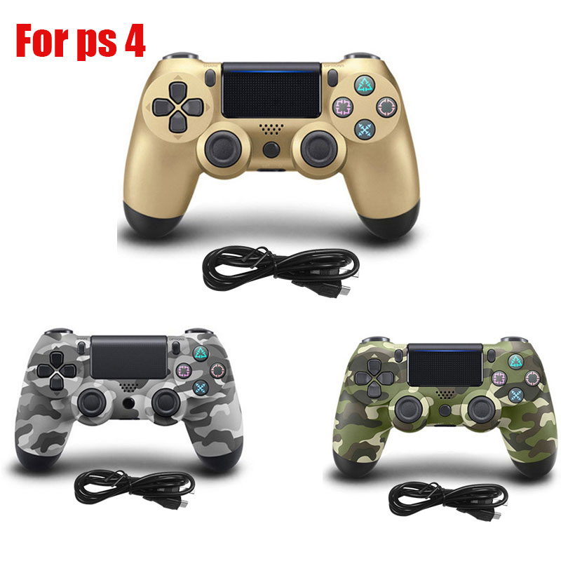 2018 100% New Wireless Controller For PS4 Gamepad For Playstation For Dualshock 4 Joystick Gamepads for PlayStation 4 Console wireless bluetooth gamepad joystick controller for sony ps4 controller joystick gamepads for playstation 4 console high quality