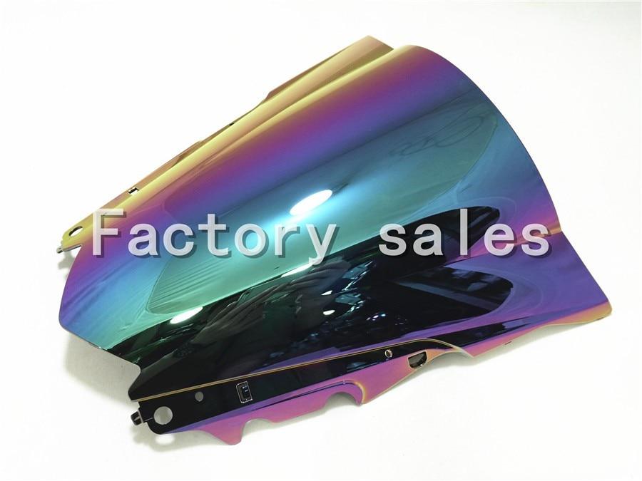 For Yamaha YZF R25 R3 2013 2014 2015 2016 2017 Iridium Windshield WindScreen Double Bubble 13 14 15 16 R 25 3