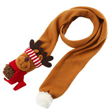 Cool  Christmas Ornaments Santa Claus Scarf Costume Accessories Gift Childrens Bib comfortable