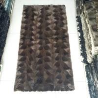 Factory Direct Mink Fur Skin / Fur Plate For Clothing