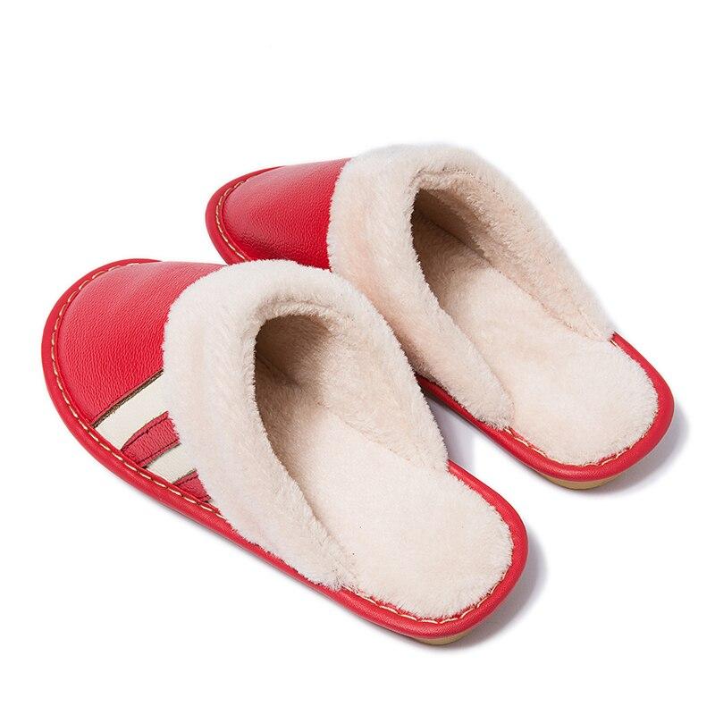 8010 rose Pantoufles rouge M Chaud Confortable En Femmes Coton De Cheveux Hiver glissement pourpre bourgogne Vert Non Cuir Red A77q6SRp1