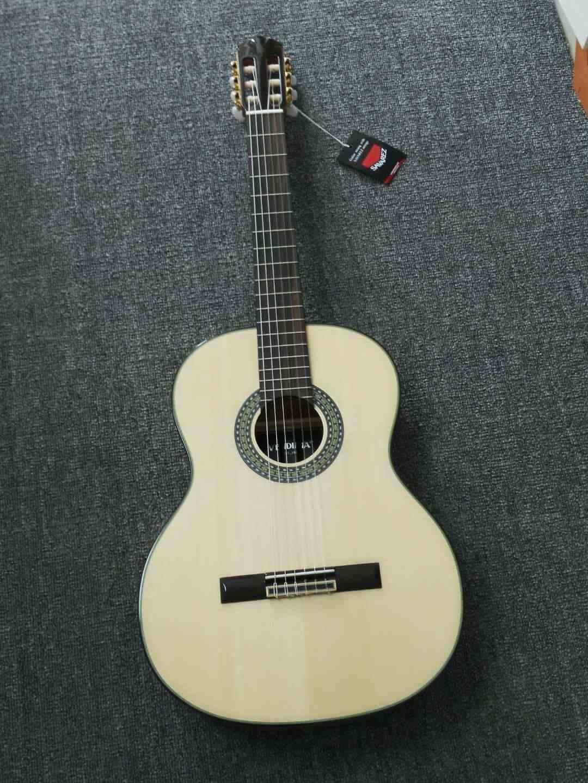 اليدوية 39 بوصة الصوتية الفلامنكو الغيتار مع قيثارة خشبية عالية الجودة/أجوادزه الجسم سلاسل ، الغيتار الكلاسيكي AF65 ، 2018 وصول جديد