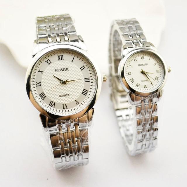 Korean Version Of High-end Men's Watch Quartz Watch Steel Belt Waterproof Watch
