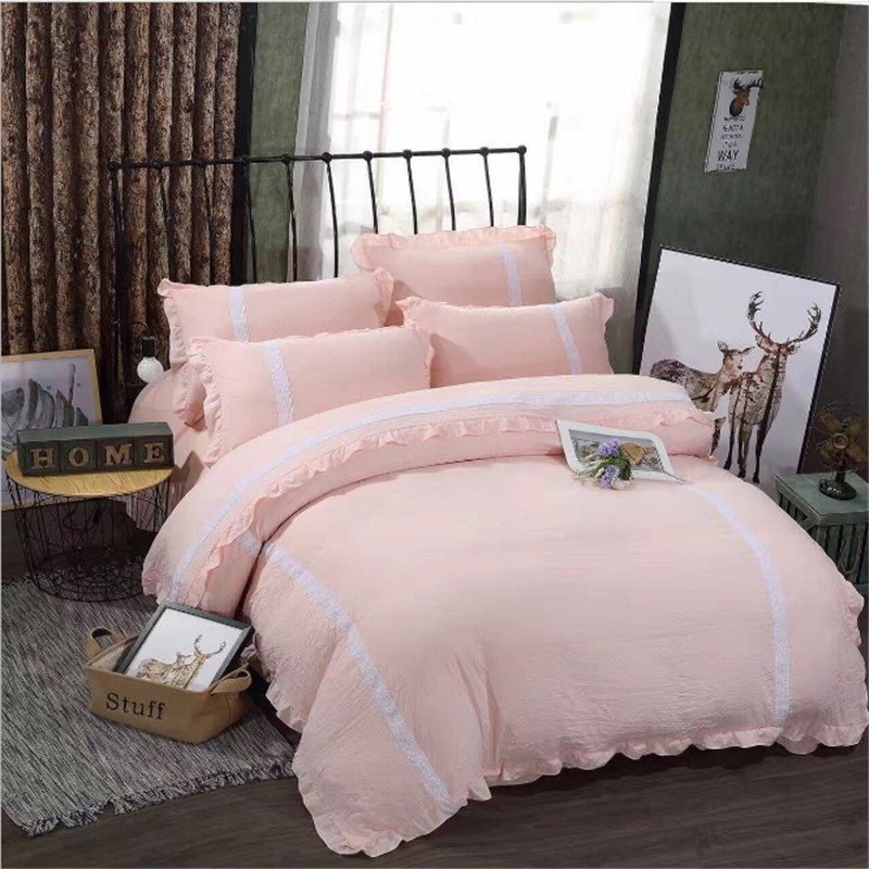 new style Colorless, NEW bedding Special lace, 4pcs 1pcs quilt cover/1pcs bed sheet/2pcs pillowcase free shippingnew style Colorless, NEW bedding Special lace, 4pcs 1pcs quilt cover/1pcs bed sheet/2pcs pillowcase free shipping