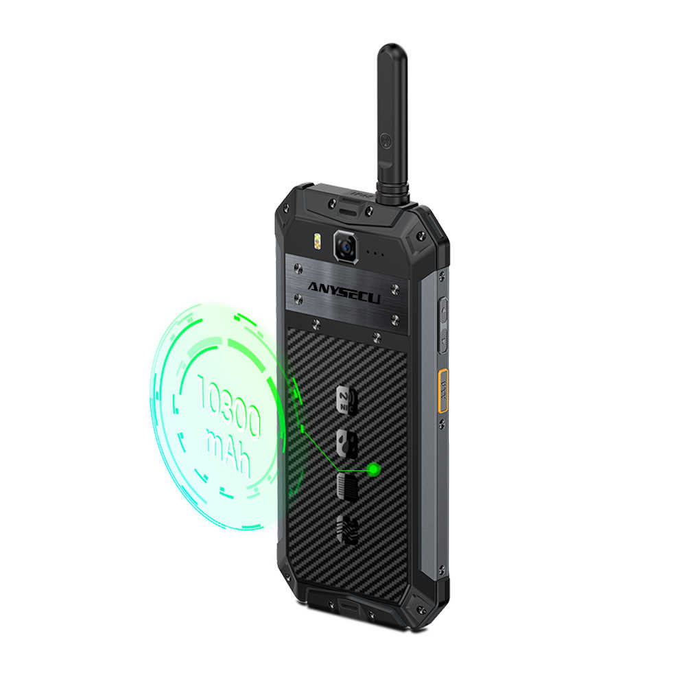 Ip68 Walkie Talkie Android8.1 LTE 4G радио Телефон T3 DMR цифровое радио UHF трансивер gsm/wcdma/lte радио zello realptt