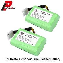 2pcs/1lot High quality 7.2V 4500mAh Vacuum Cleaner Battery for Neato XV-11 XV-12 XV-14 XV-15 XV-21 Cleaner Battery