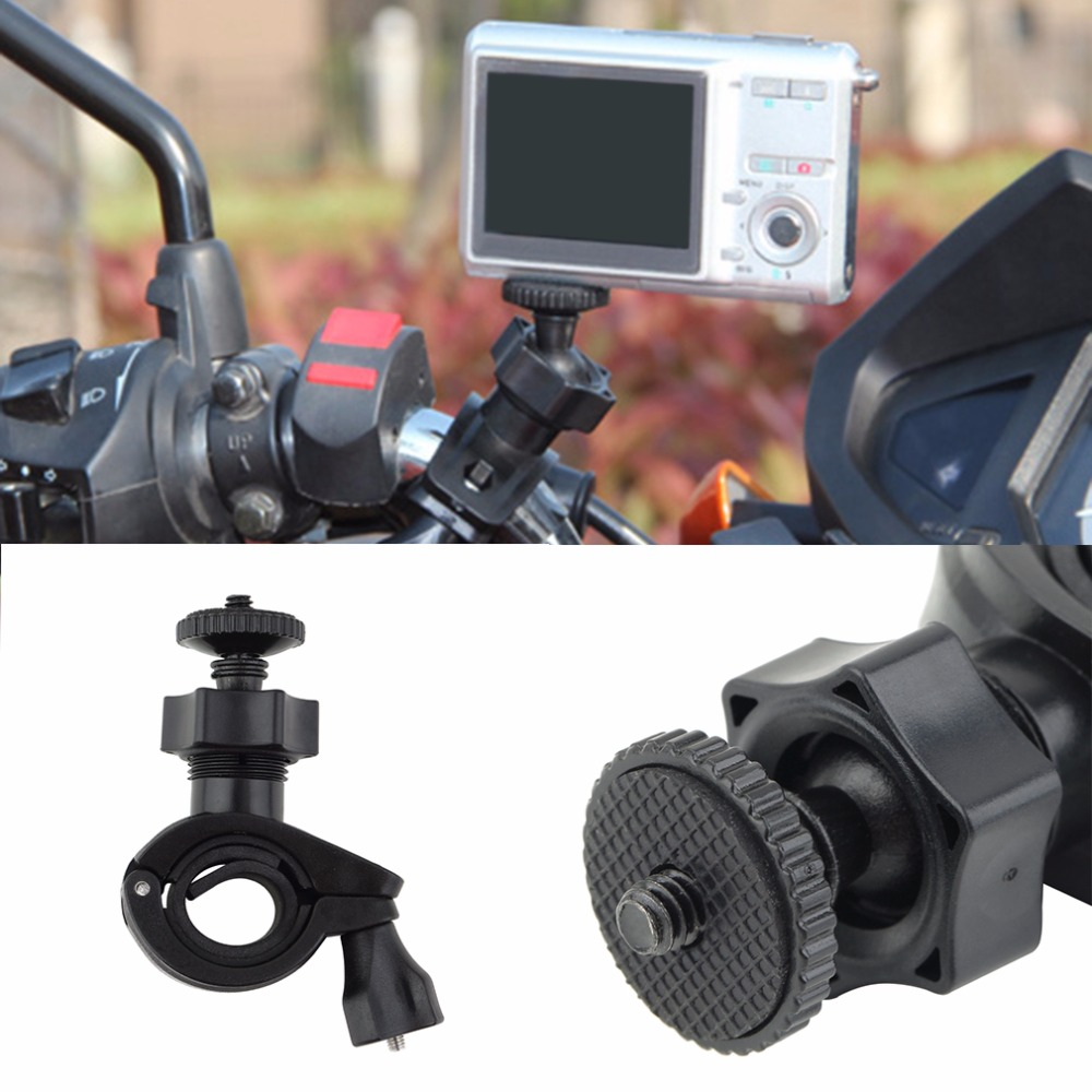 1pcs Holder For Camera Bike Bicycle Motorcycle Handlebar Stand Mount Holder Tripod For Camera Camcorder Hot Search New Arrival
