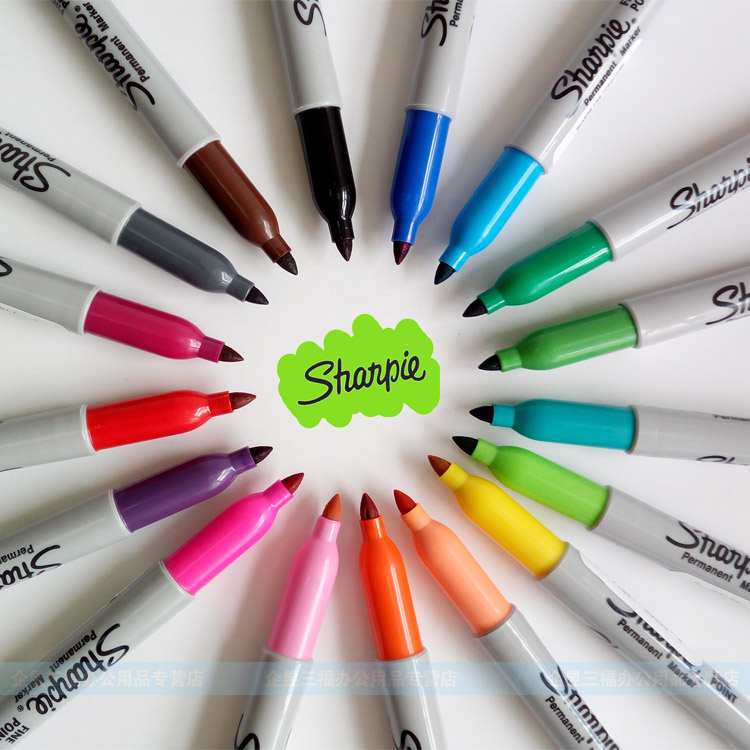 8 12 24 Colors American Sanford Sharpie Permanent Markers