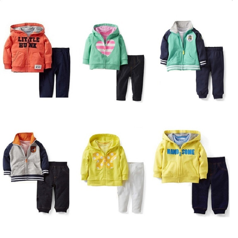 2017 Boys Clothes Sets Children Jacket+ Pants Sport Suit Baby Boy Outfits Kid Clothing Fashion Infant Tracksuits Cotton Hoodies autumn winter boys clothing sets kids jacket pants children sport suits boys clothes set kid sport suit toddler boy clothes