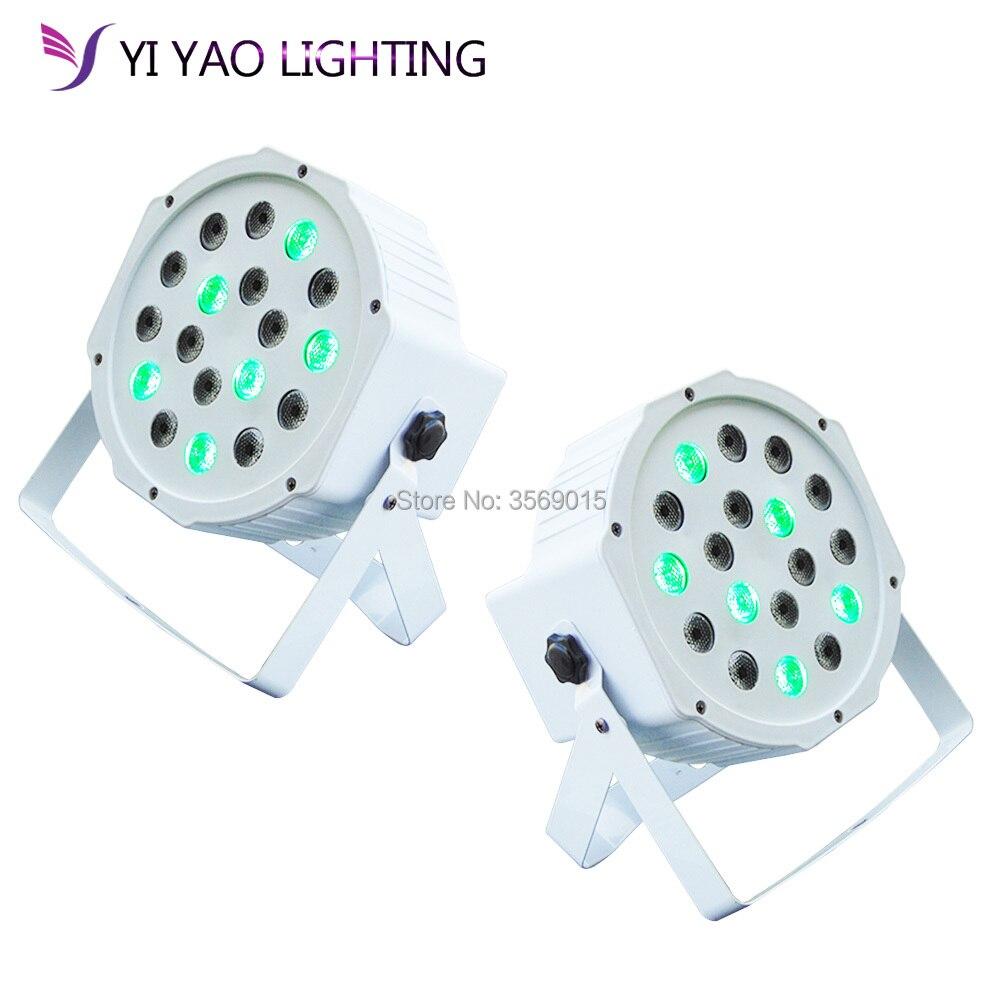 2pcs/lot New Product Mini Flat LED Par Light 18PCS LEDs RGB 7CH DMX512 Led Stage Light2pcs/lot New Product Mini Flat LED Par Light 18PCS LEDs RGB 7CH DMX512 Led Stage Light