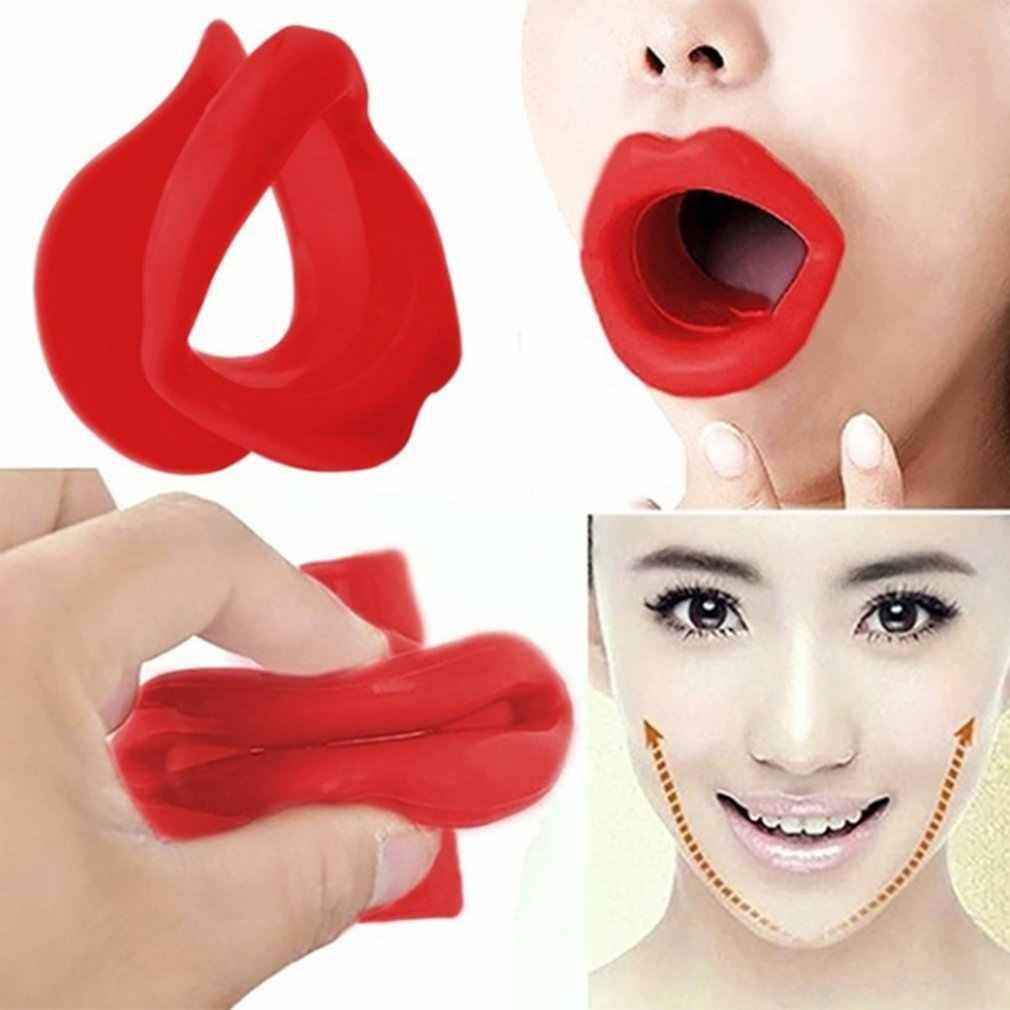 Лицо стройнее Упражнение рот кусок мышцы против морщин губный Тренажер Массажер для рта тренажер мундштук Расслабление уход за лицом
