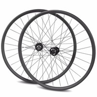 Customize carbon mountain 26er bike wheels oem carbon wheel bicycle wheels MTB carbon wheelset