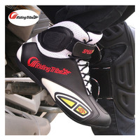 Riding Tribe Motorcycle Boots Men Motorbike Light weigh Protective Non slip Breathable Off Road Women Moto Racing Shoes A013