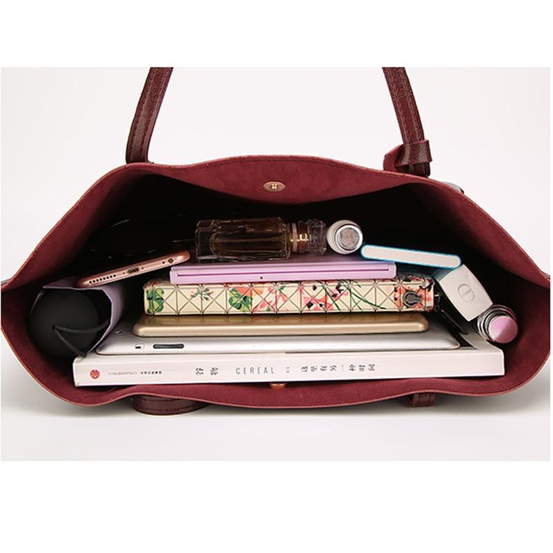 Nevenka Leather Handbag Women Casual Totes Female Shopper Ladies Shopping Bags Large Capacity Bags Vintage Bag for Women 201825