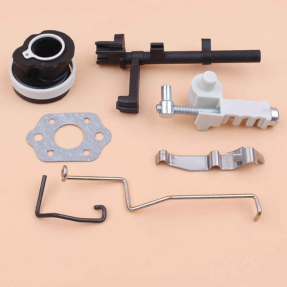 Chain Tensioner Intake Manifold Switch Shaft Throttle Choke Rod Kit For STIHL MS180 MS170 MS 180 170 018 017 Chainsaw Gas Saws