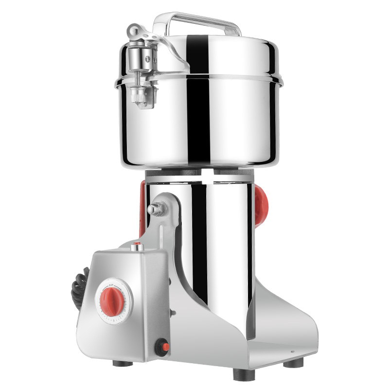 Stainless Steel Home Grinder Superfine Chinese Herbal Medicine Grinding Machine Whole Grains Powdering Blender chinese herbal medicine stainless steel grinder whole grains powdering machine superfine home small electric blender