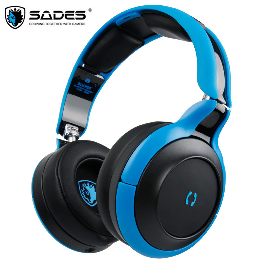 SADES D806 Bluetooth 4.1 Headset Foldable Wireless Stereo Blue tooth Headphones Handsfree Earphones With Mic For iPhone/Xiaomi бензиновый шорт корс losi team5ive t sct 4wd rtr масштаб 1 5 2 4g