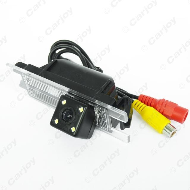 CCD Câmera Reversa Do Carro Com 4LED luzes Para Opel/Insignia/Vectra/Astra/Zafira # CA4055
