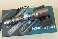 Super Powerful Military 50000mw 50w Blue Laser Pointer 445nm 450nm Flashlight Burning Match Dry Wood Burn