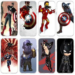 Phone Case for Samsung Galaxy A3 A5 A7 J1 J2 J3 J4 J6 J5 J7 J8 2016 2017 2018 Marvel The Avengers Batman DC Comics Superhero