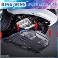 BING PING автомобильный Стайлинг для Honda Odyssey пластиковая защита двигателя 2008-2014 для двигателя Odyssey противоскользящая пластина крыло двигатель ...