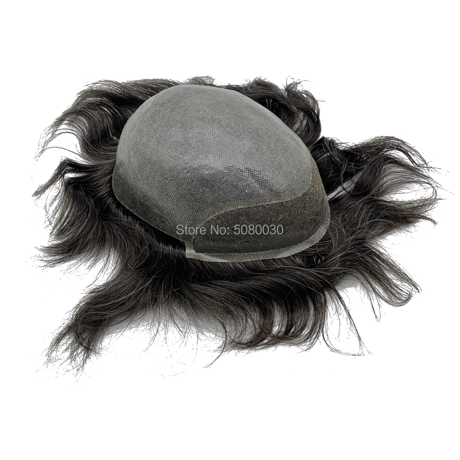 BIO Lace Base Style Lace Hair Replacement For Men Hair For Men Stock Free Shipping Fedex DHL