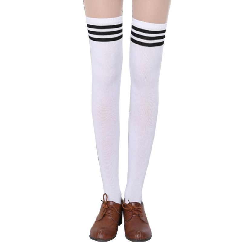 e40fe4b1870 ... Fashion Brand Designer Women Over The Knee Socks Thigh High Thick  Lovely Girls Princess Knee High ...