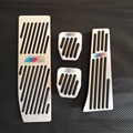 No Drill Accessories For BMW E30 E32 E34 E36 E38 E39 E46 E87 E90 E91 X5 X3 Z3 AT MT Brake Accelerator Pedal Pedals Stickers Pad