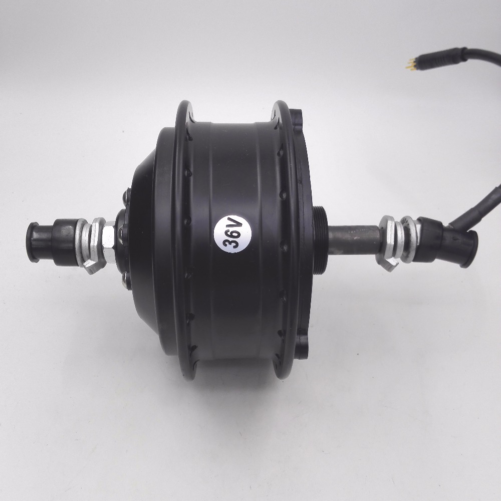 Jqorg e bike 36v 250w rear wheel hub motor high speed for Fastest electric bike hub motor