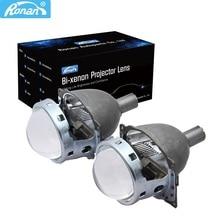 "RONAN 3.0"" Bi-xenon HID Projector headlights Lens Koito Q5 Universal Fast Install retrofit H1 H4 H7 H11 9005 9006 headlight"