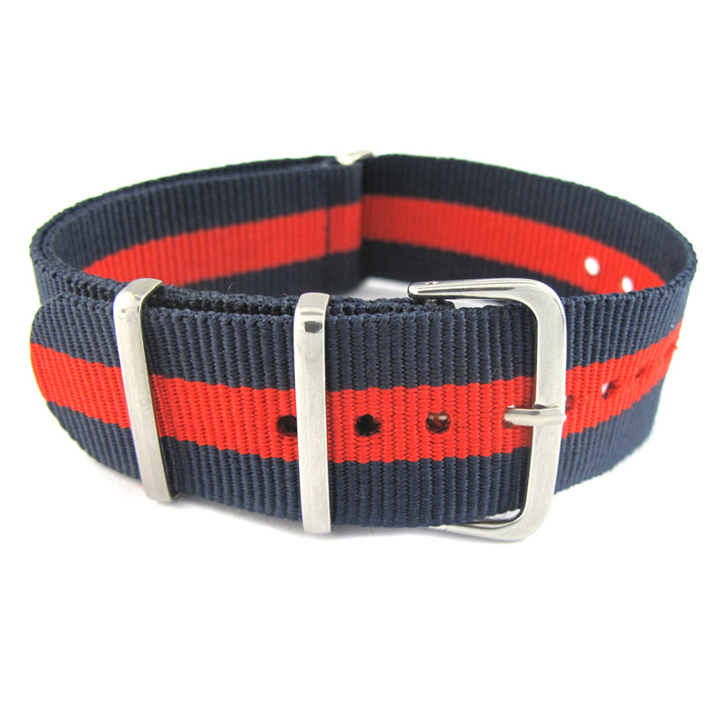 Watch Strap Nylon Colorful band for wristwatch цена и фото
