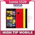 Abierto original nokia lumia 1520 20.0mp 6.0 pulgadas de pantalla táctil del teléfono móvil quad core 32 gb windows os reformado envío libre