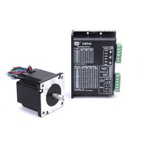 High torque 60 Stepper Motor 2 PHASE 4 lead 60BYGH/6018HB2 motor 54.5MM 2.8A/4A 1.76N.M LOW NOISE motor for CNC XYZ