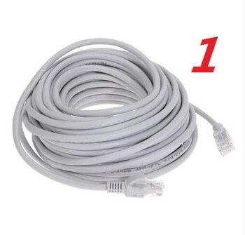 1 # laoke 2018 кабель высокого Скорость 1000 м RJ45 CAT6 сети Ethernet плоский кабель LAN UTP Патч-маршрутизатор Кабели