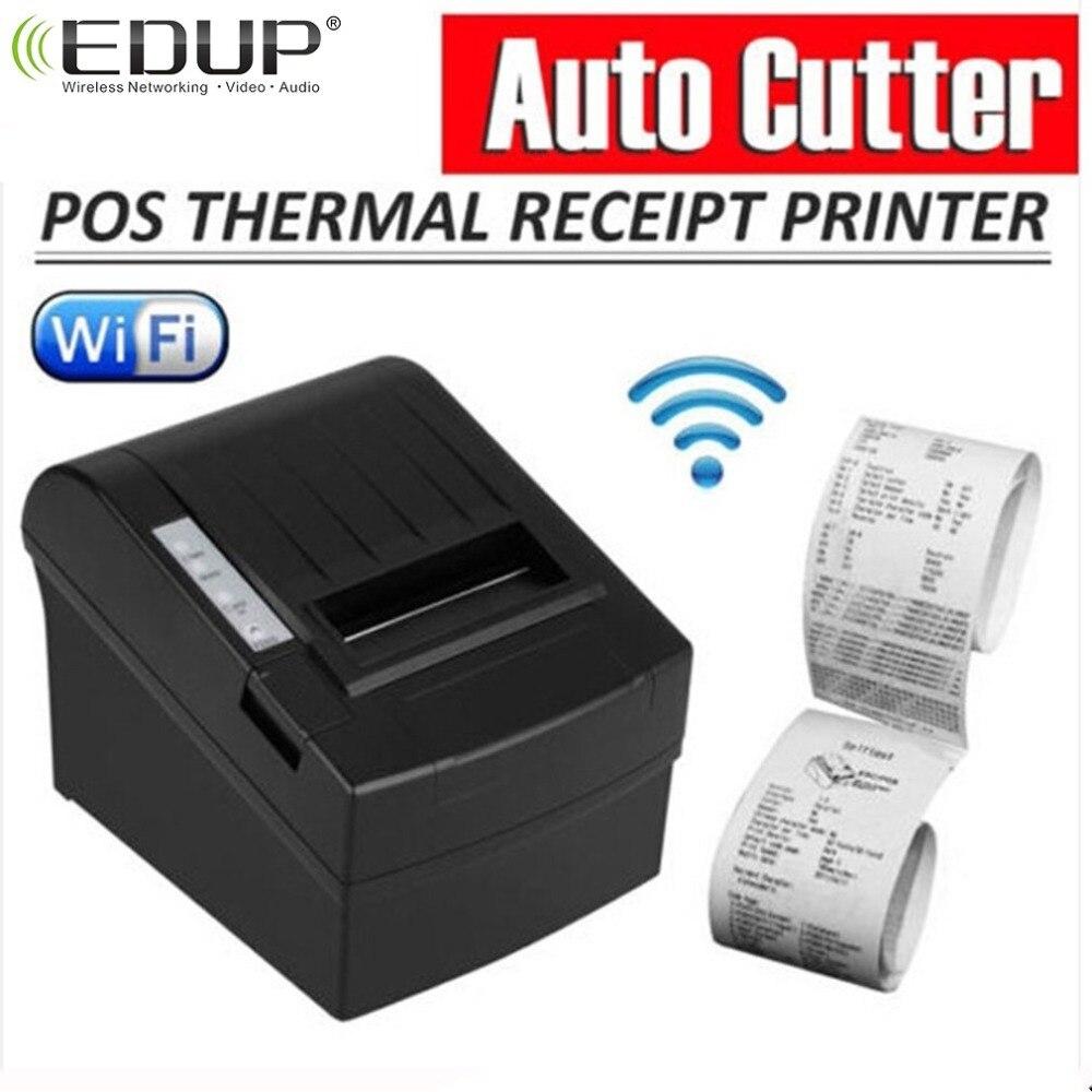 POS 8220 PortableAnet Беспроводной WI FI POS Термальность принтер получения 80 мм авто фрезы USB + WI FI Водонепроницаемый маслостойкой Термальность принтер