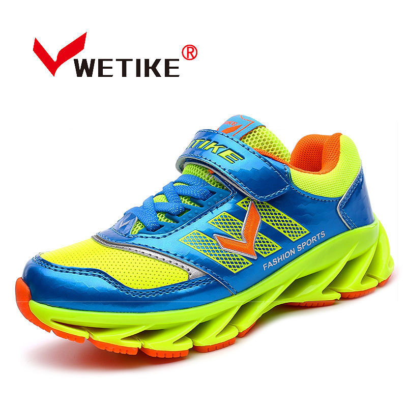 WETIKE Kid s New Style Runing Shoes Special Dsigned For Child Cushioning Sport Shoes For Children