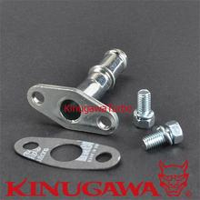 Kinugawa Turbo Tubo de Retorno de Óleo Kit M8 44mm para Garrett T2 T25 T28 TB02 TB25 TB28
